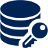 icon of database image with key